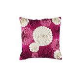KAS Imelda Pink Square Cushion