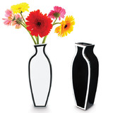 Silhouette Tall Vase - Black or White (41cm)