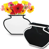 Silhouette Vase Black or White (25cm)