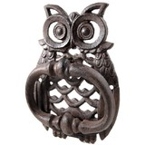 Owl Door knocker - Hoot