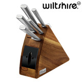 Wiltshire Staysharp Premium Radius 6pc Knife Block