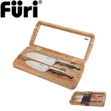 Furi Pro East West Santoku Knife Set 2 piece