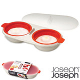 Joseph Joseph M Cuisine Egg Poacher - Red
