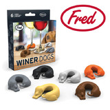 Fred Winer Dogs - Wine Drink Markers