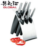 Global Millennium 7 Piece Knife Block Set