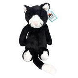Jellycat Bashful Black & White Kitten Medium