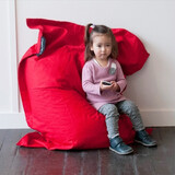 Crashmat Kids Bean Bag - Red