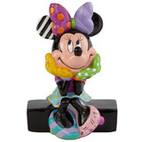 Disney by Romero Britto Minnie Mouse Mini Figurine 7.5cm
