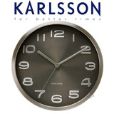Karlsson Wall Clock Maxie Black 29cm