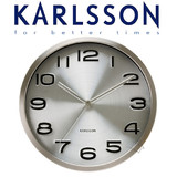 Karlsson Wall Clock Maxie Steel 29cm