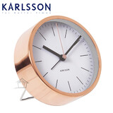 Karlsson Copper Alarm Clock Watch