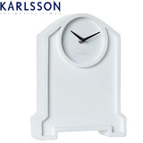 Karlsson Table Clock Past Two White