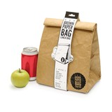Luckies Insulated Brown Paper Lunch Bag