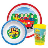 The Wiggles Mealtime Set 3pc