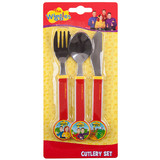 The Wiggles 3pc Cutlery Set