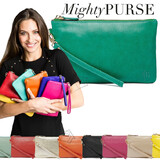 Mighty Purse Wristlet - Leather