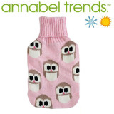 Hotties Heat/ Cold Bag - Small Pink Owl