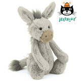 Jellycat Bashful Grey Donkey Medium 31cm