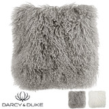 Darcy and Duke Tibetan Fur Cushions
