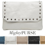 Mighty Purse Flap X-Body Bag Vegan Leather