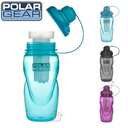 Polar Gear Hydro Freeze Water Bottle with Ice Stick 450ml
